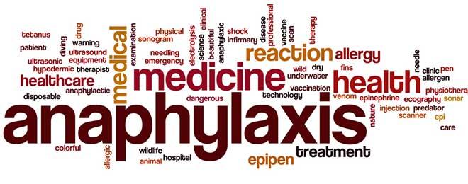 Epipen for allergic reaction