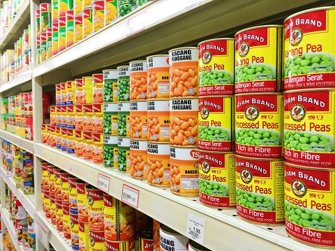 How to avoid BPA: don't buy canned food