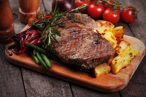 Red meat is one of man natural ways to increase iron intake